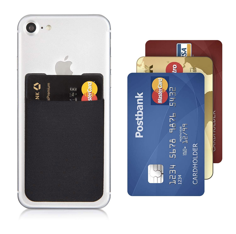 sans précédent sélectionner pour officiel site autorisé Porte carte bancaire en silicone auto-adhésif pour ...