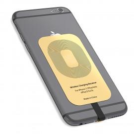 Récepteur sans fil Qi, rechargement batterie par induction - Compatible tout iPhone avec prise lightning