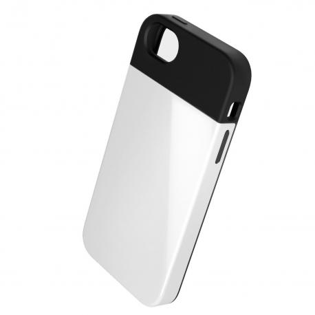 Coque arrière anti-choc double couche avec absorbeur de choc - iPhone 5/5s/5c/SE